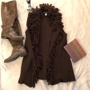 Macy's Style & Co Vintage-Inspired 70s Style Vest